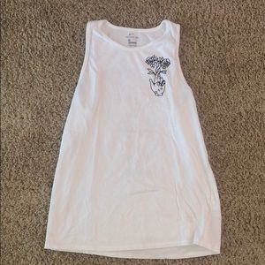 Nike floral tank top (Nordstrom collab)